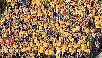 FUSSBALL WM 2014  VORRUNDE    Gruppe A    12.06.2014 Brasilien - Kroatien Fans der brasilienischen Nationalmannschaft