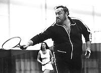 Luciano Pavarotti Tennis Tournament in San Francisco, (1980 photo/Ron Riesterer)