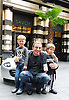 Tico Torres <br /> launching children's clothing label Rock Star Baby to British Press at The Savoy Hotel, London, Great Britain <br /> 4th July 2013 <br /> <br /> Tico Torres <br /> with <br /> Walter Fry (3.5 yrs)<br /> and<br /> Freddie Wilkiman (5 yrs)<br /> Photograph by Elliott Franks <br /> <br /> Hector Samuel Juan &quot;Tico&quot; Torres (born October 7, 1953) is an American drummer and percussionist for rock band Bon Jovi. He also has taken lead vocals on a song on the box set 100,000,000 Bon Jovi Fans Can't Be Wrong, as well as backing vocals on a couple of the early Bon Jovi tracks, notably &quot;Born to Be My Baby&quot; and &quot;Love for Sale&quot;.