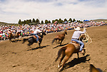 Big Loop Roping, Jordan Valley Big Loop Rodeo, Ore...