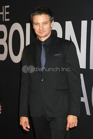 NEW YORK, NY - JULY 30:  Jeremy Renner at 'The Bourne Legacy' New York Premiere at Ziegfeld Theater on July 30, 2012 in New York City. © RW/MediaPunch inc.