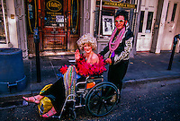Mardi Gras, French Quarter, New Orleans, Louisiana USA