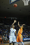 UK guard Janee Thompson shoots a basket during the first half of the UK vs. Tennessee at Memorial Coliseum in Lexington, Ky., on Sunday, March 3, 2013. Photo by Emily Wuetcher | Staff....