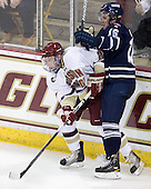 Patch Alber (BC - 27), Joel Lenius (Toronto - 16) - The Boston College Eagles defeated the visiting University of Toronto Varsity Blues 8-0 in an exhibition game on Sunday afternoon, October 3, 2010, at Conte Forum in Chestnut Hill, MA.