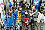 At the ITT  Careers Fair on Tuesday were Jack Carroll, Mike Edgar, Jessica O Connor, Niall O'Shea