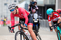 Picture by Alex Whitehead/SWpix.com - 11/05/2017 - Cycling - Tour Series Round 2, Stoke-on-Trent - Matrix Fitness Grand Prix Series - Team Breeze's Manon Lloyd.