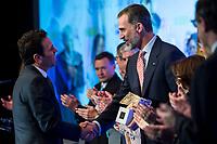"""XXXIV International prizes of journalism """"Rey de Espana"""""""