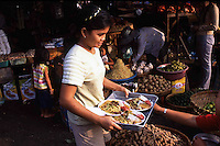 Some of the best best foods can be found by watching other vendors and how they feed themselves. Cambodia. Pentax Spotmatic. 2004