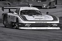 Bobby Rahal drives the Ford Mustang GTP entered by Team Zakspeed Roush in the 1984 IMSA race at Road Atlanta, Braselton, Georgia, USA.