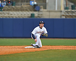 Former Rebel Justin Henry at Ole Miss baseball alumni game at Oxford-University Stadium in Oxford, Miss. on Saturday, February 5, 2011.