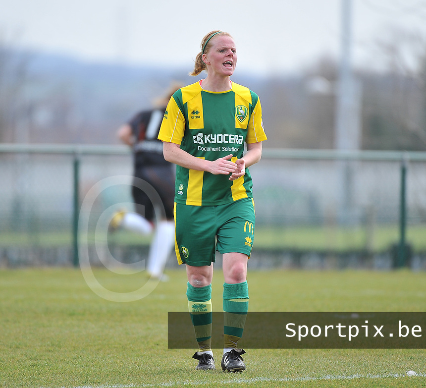 RSC Anderlecht Dames - ADO Den Haag : Sylvia Nooij.foto DAVID CATRY / Nikonpro.be