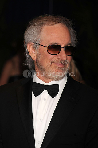 Steven Spielberg arrives at the White House Correspondents' Association Dinner in Washington, DC. May 1, 2010. Credit: Dennis Van Tine/MediaPunch