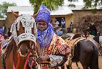 A portrait from the Durbar in Argungu. Kebbi State, Nigeria.