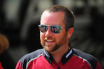 May 5, 2012; Commerce, GA, USA: NHRA top fuel dragster driver Shawn Langdon during qualifying for the Southern Nationals at Atlanta Dragway. Mandatory Credit: Mark J. Rebilas-