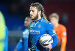 St Johnstone v Dundee United.....29.12.13   SPFL<br /> Stevie May clutches the match ball as he walks off the pitch with the match ball at full time<br /> Picture by Graeme Hart.<br /> Copyright Perthshire Picture Agency<br /> Tel: 01738 623350  Mobile: 07990 594431