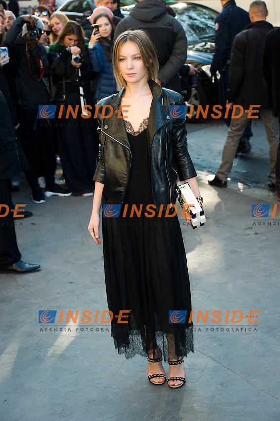 Diane Roussel Chanel s fashion show arrivals - Paris - 04/10/2016 <br /> Foto Panoramic / Insidefoto