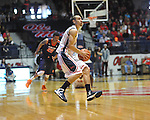"Ole Miss' Marshall Henderson (22) vs. Auburn at the C.M. ""Tad"" Smith Coliseum on Saturday, February 23, 2013.  (AP Photo/Oxford Eagle, Bruce Newman)"