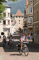 Vinschgau, Val Venosta, South Tyrol, June 2007. Glurns is the smallest city in South Tyrol.  South Tyrol used to be part of Austria until it became part of Italy after WWI. Photo by Frits Meyst/Adenture4ever.com