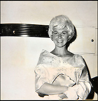 BNPS.co.uk (01202 558833)<br /> Pic: DominicWinter/BNPS<br /> <br /> American actress and singer Doris Day.<br /> <br /> A remarkable set of 430 candid photographs of Hollywood royalty have been unearthed after 50 years.<br /> <br /> Included in the collection of unpublished pictures are snaps of silver screen icons Paul Newman, Charlie Chaplin, Bette Davis, Audrey Hepburn, and Dean Martin.<br /> <br /> Paul Newman is captured looking over his shoulder at the wheel of his car and Charlie Chaplin is pictured without his trademark moustache. <br /> <br /> Audrey Hepburn has posed with her then husband actor Mel Ferrer while Bette Davis can be seen puffing on a cigarette.<br /> <br /> The snaps were taken by obsessive amateur photographer Dwight 'Dodo' Romero from 1954 to 1967 who would hang around at Hollywood parking lots and other hang-outs to catch a glimpse of the stars.<br /> <br /> The photos, which more recently belonged to a book dealership in York, have emerged for auction and are tipped to sell for &pound;800.