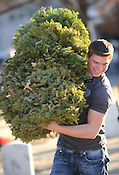 Wreath removal at National Cemetery