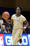29 January 2017: Wake Forest's Amber Campbell. The Duke University Blue Devils hosted the Old Dominion University Monarchs at Cameron Indoor Stadium in Durham, North Carolina in a 2016-17 Division I Women's Basketball game. Duke won the game 71-43.