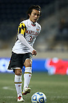 13 December 2013: Maryland's Tsubasa Endoh (JPN). The University of Maryland Terripans played the University of Virginia Cavaliers at PPL Park in Chester, Pennsylvania in a 2013 NCAA Division I Men's College Cup semifinal match. Maryland won the game 2-1.