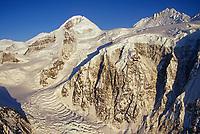 Wrangell St. Elias mountain range, Twaharpies glacier, Wrangell St. Elias National Park, Alaska
