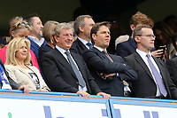 Former England Manager, Roy Hodgson was watching from the Stand during Chelsea vs Sunderland AFC, Premier League Football at Stamford Bridge on 21st May 2017
