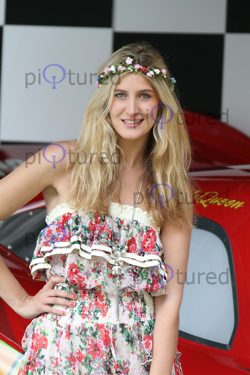 Francesca Hull Cars 2 UK Premiere, Whitehall Gardens, London, UK, 17 July 2011:  Contact: Rich@Piqtured.com +44(0)7941 079620 (Picture by Richard Goldschmidt)