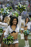 Seattle Seagals perform in the pre season game against the Denver Broncos at CenturyLink Field in Seattle, Washington on  August 17, 2013. The Seattle Seahawks beat the Broncos 40-10.     ©2013. Jim Bryant Photo. All Rights Reserved