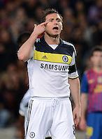FUSSBALL   CHAMPIONS LEAGUE SAISON 2011/2012   HALBFINALE   RUECKSPIEL        FC Barcelona - FC Chelsea       24.04.2012 Gestenreich: Frank Lampard (FC Chelsea)
