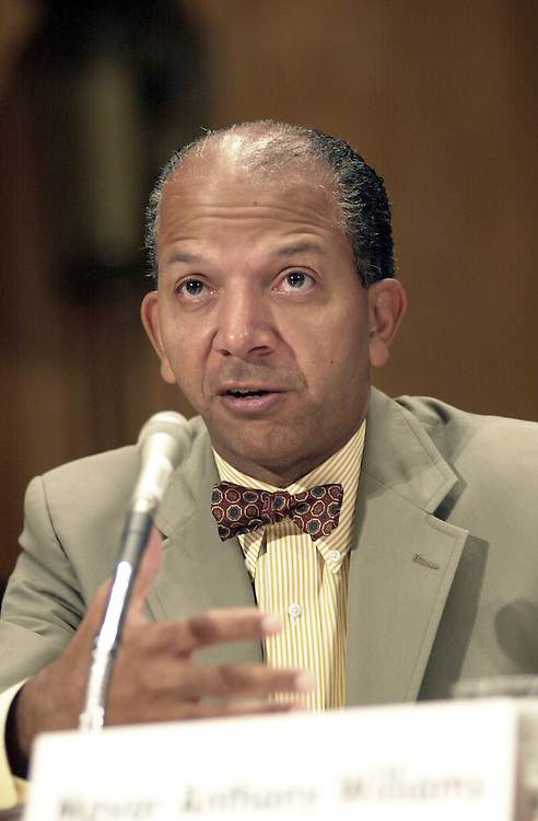 WilliamsA.5(DG)100300 -- Anthony Williams, mayor of Washington D.C., testifies before the oversight of Government Management, restructuring and the District  of Columbia subcommittee hearing on the performance of the District of  Columbia.