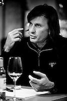 Giovanni Dubini, wine producer at Palazzone vineyards, near Orvieto, Umbria, Italy