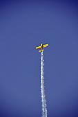 Stunt Plane Aircraft stock photo