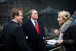 Five days after Election Day a new Government is formed involving the Conservative Party and The Liberal Democratic Party. Photos taken at College Green (Abingdon Street Gardens) in Westminster, London. Photo shows John Prescott MP, a former Deputy Leader of The Labour Party.