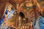 Assumption Day in Jerusalem-Catholic