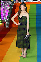 Anna Kendrick at the Trolls 3D Light up The London Eye to promote the release of the new animated film. London Eye, Jubilee Gardens, London on September 29th 2016<br /> CAP/ROS<br /> &copy;Steve Ross/Capital Pictures /MediaPunch ***NORTH AND SOUTH AMERICAS ONLY***