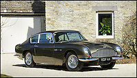 BNPS.co.uk (01202 558833).Pic: Bonhams/BNPS..***Please Use Full Byline***..Bonhams are also selling this absolutely mint example of a DB6 Vantage with a £150,000 estimate in its May 18th sale...It may look like its run the gautlet with every Bond villain in movie history...but a classic Aston Martin would be worth a whopping £150,000 if restored to pristine condition. ..The 1966 DB6 Vantage was last purchased for only £4000 in the early seventies but sadly its owner locked it away in a very dusty barn in 1983 where the iconic motor has spent the last 30 years languishing under a thick layer of dust...Despite its rather tired appearance Bonhams are hoping to sell it for upwards of £30,000...and its first outing will be straight to the car wash...