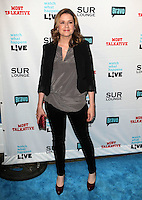 Jenna Fischer.Bravo's Andy Cohen's Book Release Party For &quot;Most Talkative: Stories From The Front Lines Of Pop Held at SUR Lounge, West Hollywood, California, USA..May 14th, 2012.full length black blazer trousers grey gray top.CAP/ADM/KB.&copy;Kevan Brooks/AdMedia/Capital Pictures.