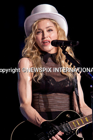 "MADONNA.concert ""Sticky & Sweet Tour""at the San Siro Stadium, Milan_14/07/2009.Mandatory Credit Photo: ©NEWSPIX INTERNATIONAL..**ALL FEES PAYABLE TO: ""NEWSPIX INTERNATIONAL""**..IMMEDIATE CONFIRMATION OF USAGE REQUIRED:.Newspix International, 31 Chinnery Hill, Bishop's Stortford, ENGLAND CM23 3PS.Tel:+441279 324672  ; Fax: +441279656877.Mobile:  07775681153.e-mail: info@newspixinternational.co.uk"
