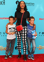 UNIVERSAL CITY, CA, USA - SEPTEMBER 21: Garcelle Beauvais at the Los Angeles Premiere Of Focus Features' 'The Boxtrolls' held at Universal CityWalk on September 21, 2014 in Universal City, California, United States. (Photo by Celebrity Monitor)