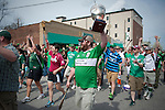 Photos from the St. Patrick's Day Parade and festivities in Dogtown, St. Louis MO.