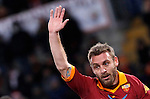 Calcio, Serie A: Roma vs Fiorentina. Roma, stadio Olimpico, 8 dicembre 2012..AS Roma midfielder Daniele De Rossi gestures during the Italian Serie A football match between AS Roma and Fiorentina at Rome's Olympic stadium, 8 december 2012..UPDATE IMAGES PRESS/Isabella Bonotto