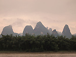 Karst scenery, Xing Ping, China