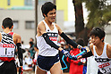 Hiroyuki Horibata (Asahi-kasei), .January 1, 2012 - Athletics : .New Year Ekiden 2012, 56th All Japan Industrial Ekiden Race .Start & Goal at Gunma Prefecture Goverment, Gunma, Japan. .(Photo by Daiju Kitamura/AFLO SPORT) [1045]