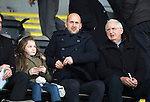 St Johnstone v Motherwell&hellip;20.02.16   SPFL   McDiarmid Park, Perth<br />Former saints player Paul Sheerin now a coach at Aberdeen watches the game<br />Picture by Graeme Hart.<br />Copyright Perthshire Picture Agency<br />Tel: 01738 623350  Mobile: 07990 594431
