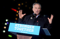 PHILADELPHIA, PA - OCTOBER 22: Tim Kaine campaigns for Vice-President of the United States at University of Pennsylvania on October 22, 2016 in Philadelphia, Pennsylvania. Credit: Dennis Van Tine/MediaPunch