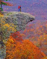 Autumn Colors at Hawksbill Crag, Upper Buffalo Wilderness, Ozark National Forest, Arkansas