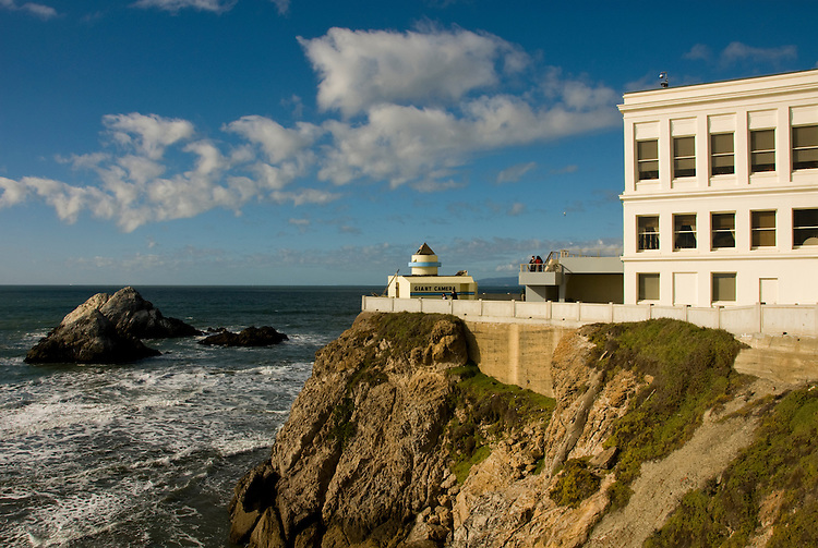 California: San Francisco. Cliff House Restaurant at Ocean Beach. Photo copyright Lee Foster. Photo #: 25-casanf75750