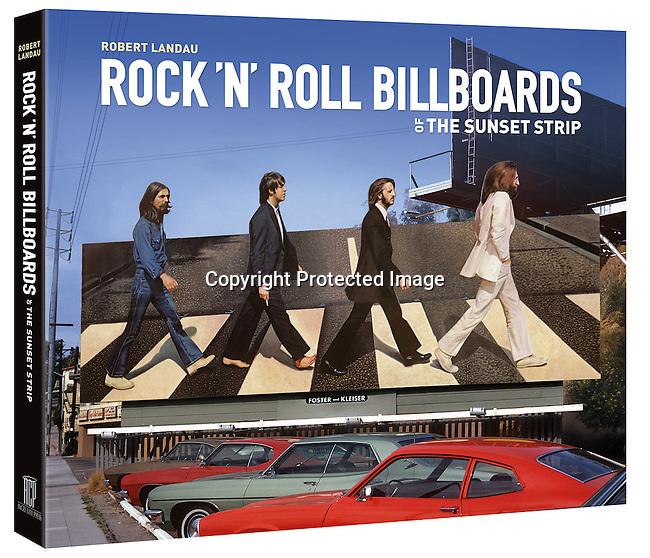 cover of Rock N Roll Billboards of the Sunset Strip by Robert Landau<br /> (Angel City Press)